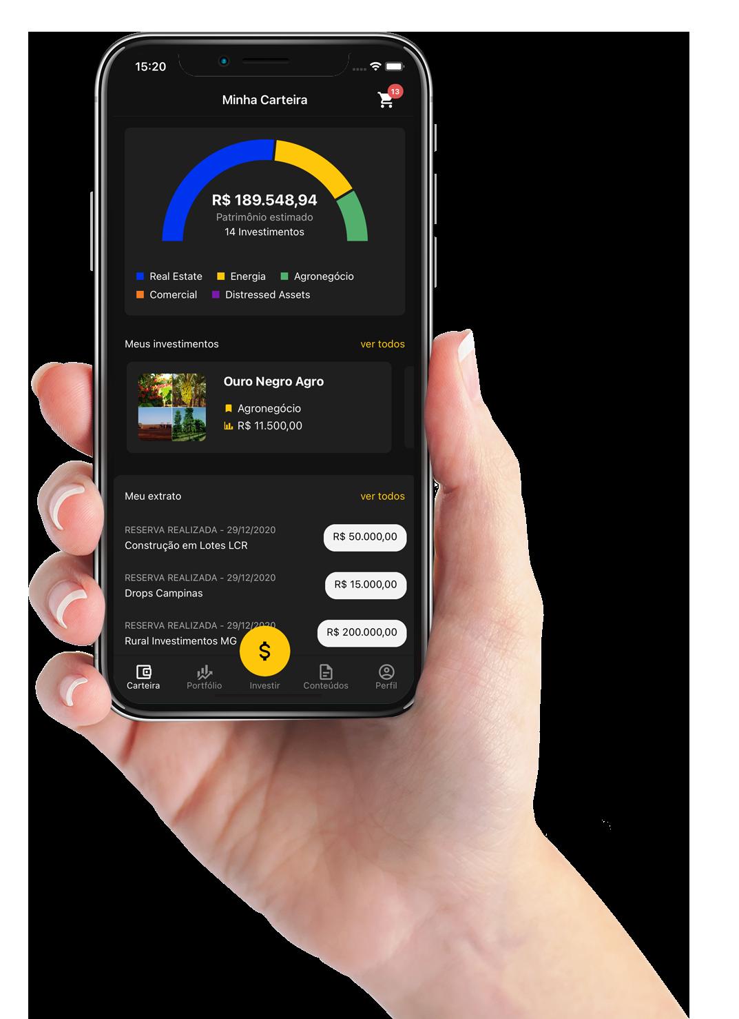 aplicativo da bloxs investimentos